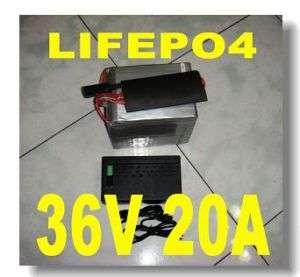 36V 20AH LIFEPO4 Lithium Battery electric bicycle bike
