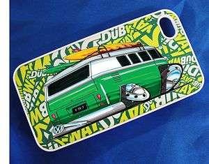 Koolart VW CAMPER VAN SURF Dubway Sticker bomb i Phone 4 4S Case Cover