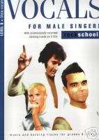 VOCALS for MALE Singers ROCKSCHOOL Exam Book CD LEVEL 3