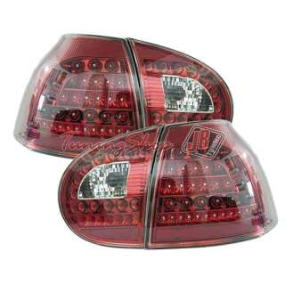 FARI POSTERIORI LED VW GOLF V 5 ROSSI