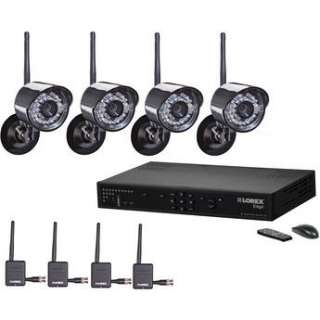 Lorex 4 Channel Edge + Wireless Security Camera System