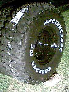 33 12.50 15 MASTERCRAFT COURSER MTs on 15 x10 rims X 4