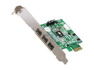 Newegg   SIIG 3 Ports FireWire 800 PCIe Card Model NN FW0012 S1