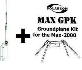 IMAX 2000 CB RADIO ANTENNA + GROUND PLANE KIT 27MHz 5/8 WAVE HOME BASE