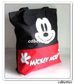 Girls Cute Mickey Large Shopping Shoulder Bags Handbags