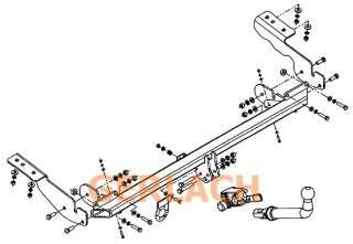 attelage remorque démontable Citroen C4 Picasso et Grand de 2006