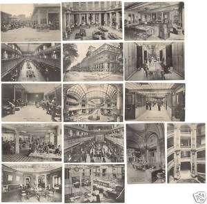 12 CPA BANQUE CREDIT LYONNAIS VERS 1900, ANIMEES