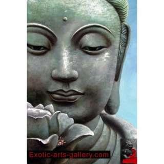 Buddha Painting Feng Shui Buddha Meditation Painting:  Home