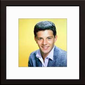 Frankie Avalon Custom Framed And Matted Color Photo