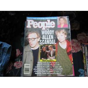 People Weekly (The Woody Allen Scandal.Mia FarrowSoon