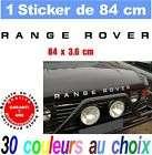 Sticker RANGE ROVER ref 7 LAND ROVER 4X4