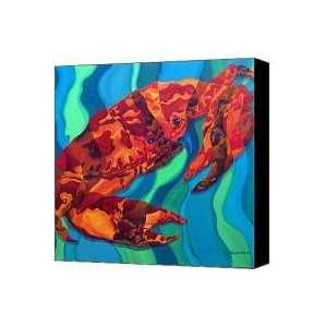 crab Canvas Print / Canvas Art   Artist Mark Jennings: Home & Kitchen