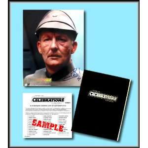 Star Wars Hand Signed Autographed Photo of MICHAEL SHEARD