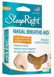 Splintek SleepRight Sleep Right Nasal Breathe Aid Nasal Strip