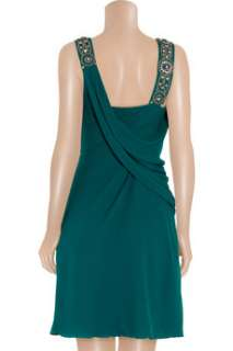 Temperley London Andrea embellished silk crepe dress   60% Off Now at