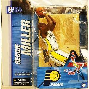 NBA Series 7 Pacers Reggie Miller White Jersey Figure