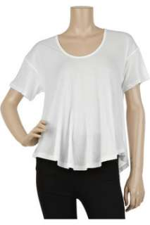 Elizabeth and James Sheer cotton T shirt   50% Off Now at THE OUTNET