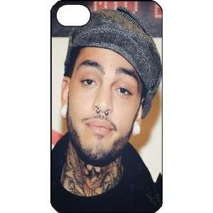 Travie McCoy iPhone 4s iPhone4s Black Designer Hard Case