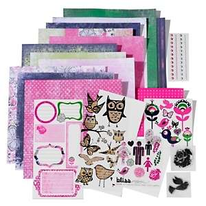 Glitz Designs Maya Glam Scrapbooking Kit with Stamps