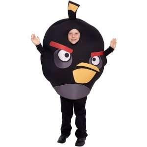 Rovio Angry Birds   Black Bird Kids Costume, 801661