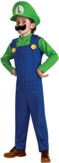 Toddler Luigi Costume   Nintendo Super Mario Brothers Costumes