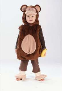 Monkey Vest Costume   Family Friendly Costumes