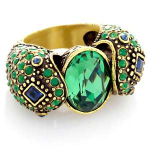 Heidi Daus Spellbinding Snake Crystal Ring