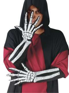 home costume accessories costume gloves skeleton gloves