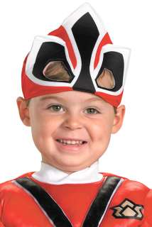 Power Rangers Samurai Red Ranger Samurai Muscle Toddler Costume for