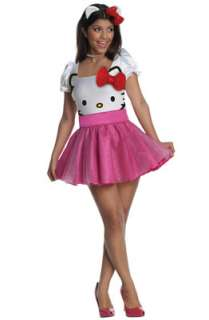 Hello Kitty Tutu Dress Adult Costume for Halloween   Pure Costumes