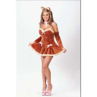 Adult Sexy Teddy Bear Costume   Animal Costumes   15FW5148