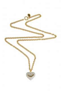 Puffed Heart Necklace by Juicy Couture Accessories   Metallic   Buy