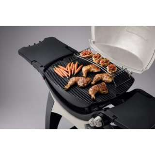 Weber 586002 Q 320 Portable Outdoor Propane Gas Grill W/Grill Out