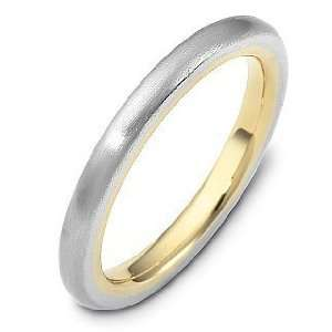 Comfort Fit 14 Karat Gold Designer Wedding Band Ring   11.75 Jewelry