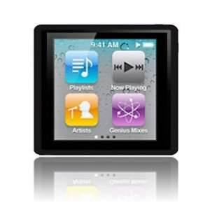 Tech Black Soft Gel Case for Apple iPod Nano 4 6G 6th Generation   8GB
