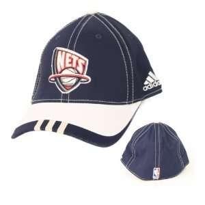New Jersey Nets NBA Adidas OSFA Flex Fit Two Tone Hat