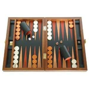 Folding Wood Backgammon Board Game Set (Zaza & Sacci