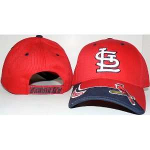 MLB Officially Licensed St. Louis Cardinals 2 tone Baseball Hat with