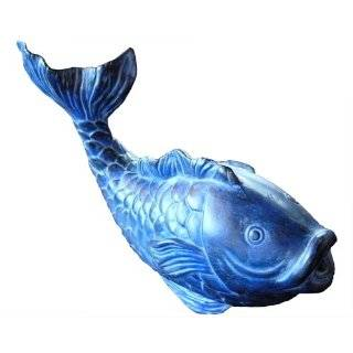 Ceramic fish pond art kit with pump for Amazon fish ponds