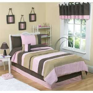 Soho Pink 3 pc Full/Queen Bedding Ensemble