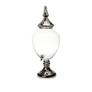 Crystal Jumbo Glass Beverage Dispenser, 233 Oz. Kitchen & Dining