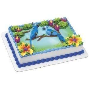 A Birthday Place Rio Blu and Jewel Cake Topper Toys