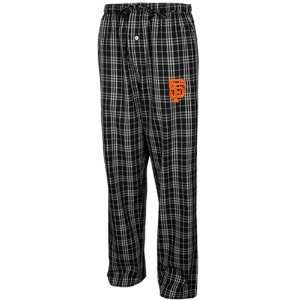 San Francisco Giants Black Plaid Event Pajama Pants