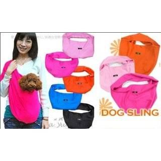 Sling Dog Carrier By Susan Lanci   Black Large