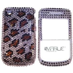 Blackberry Curve 8520 Leopard Bling Case #33 Everything