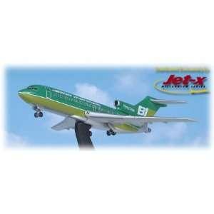 Jet X Boeing 727 100 Braniff Green Model Airplane