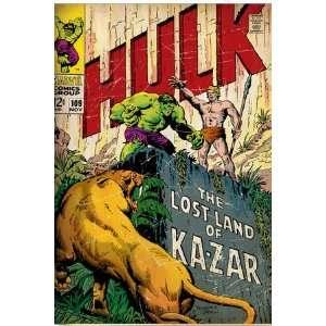 Marvel Comics Retro The Incredible Hulk Comic Book Cover #109, the