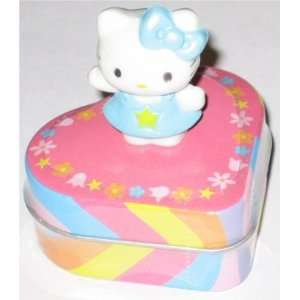 Hello Kitty Sweets Candy Blue Outfit Novelty Tin Toys