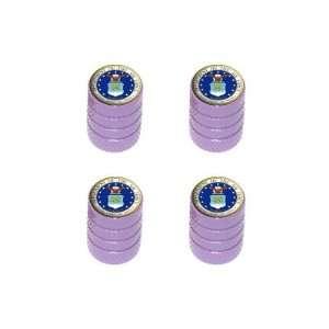 Force   Miltary   Tire Rim Wheel Valve Stem Caps   Purple Automotive