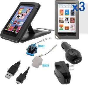 Car) Charger Adapters + LCD Screen Cleaner for  NooK